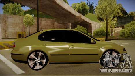 Seat Toledo German Style para GTA San Andreas vista posterior izquierda