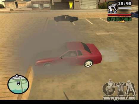 GTA V to SA: Burnout RRMS Edition para GTA San Andreas quinta pantalla