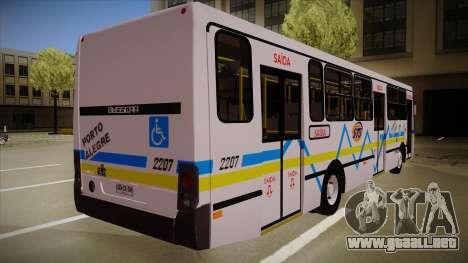 Busscar Urbanuss Ecoss MB OF 1722 M Porto Alegre para la visión correcta GTA San Andreas