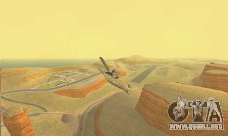 Hercules GTA V para GTA San Andreas vista hacia atrás