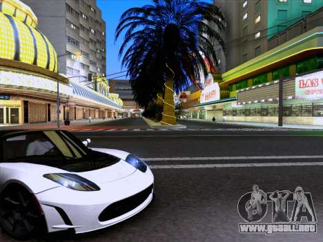 Tesla Roadster Sport 2011 para GTA San Andreas left