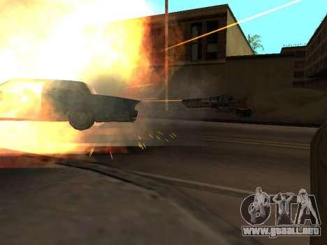 WeaponStyles para GTA San Andreas tercera pantalla