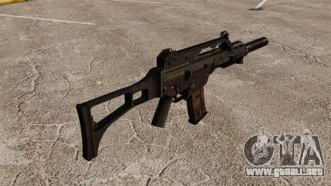 HK G36C asalto rifle v2 para GTA 4 segundos de pantalla