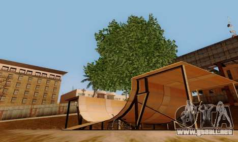 ENBSeries for low and medium PC para GTA San Andreas octavo de pantalla