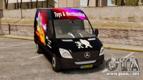 Mercedes-Benz Sprinter Tom and Jerry para GTA 4