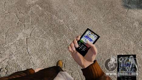 Temas para servicios telefónicos Nueva York para GTA 4 tercera pantalla