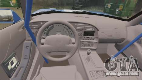Chevrolet Corvette C4 1996 v2 para GTA 4 vista interior