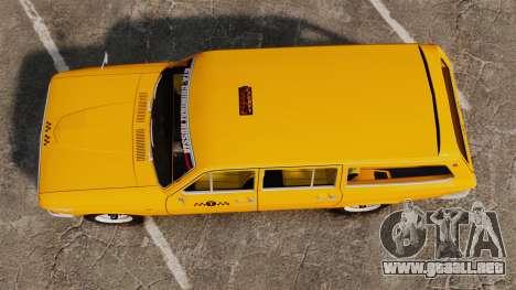 Taxi Volga GAZ-24-02 para GTA 4 visión correcta