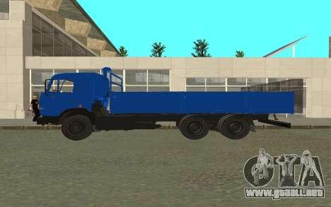 KAMAZ 54115 para GTA San Andreas left