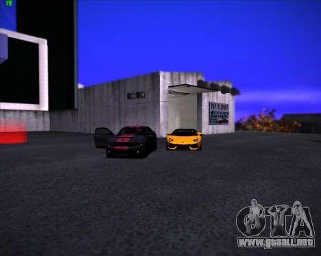 SA Graphics HD v 3.0 para GTA San Andreas sucesivamente de pantalla