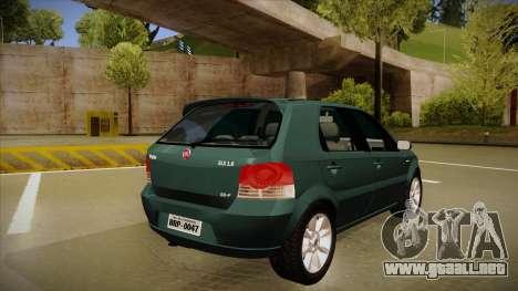 FIAT Palio ELX 2010 para la visión correcta GTA San Andreas