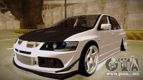 Mitsubishi EVO VIII para GTA San Andreas
