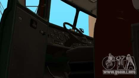 Camión autoescuela v. 2.0 para vista inferior GTA San Andreas