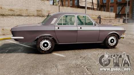 Volga GAZ-2410 v2 para GTA 4 left