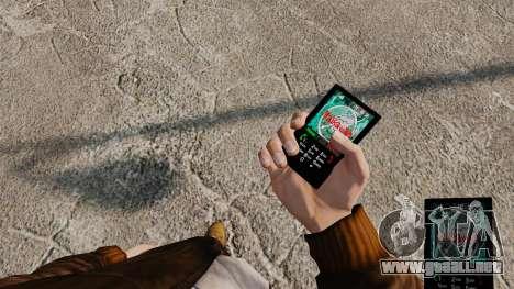 Temas para teléfono Vampire The Masquerade para GTA 4 octavo de pantalla