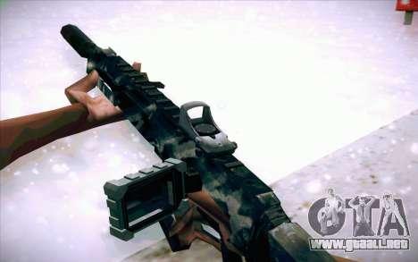 ACR para GTA San Andreas quinta pantalla