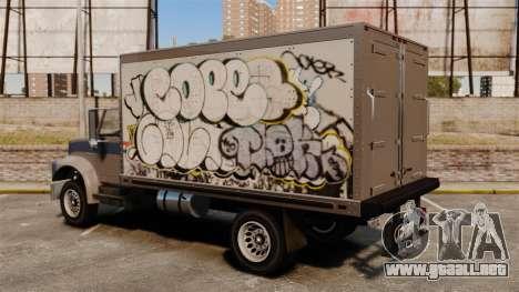 Nuevo graffiti a Yankee para GTA 4 Vista posterior izquierda