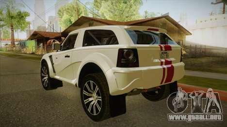 Bombín EXR S 2012 FIV & APT para la visión correcta GTA San Andreas