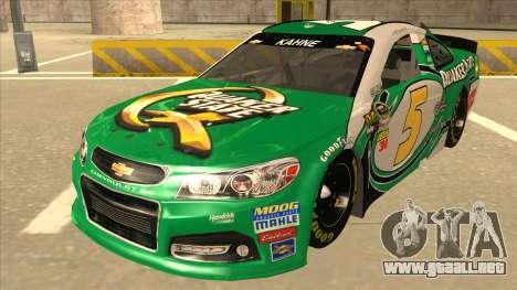 Chevrolet SS NASCAR No. 5 Quaker State para GTA San Andreas