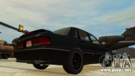 Mitsubishi Galant para GTA 4 visión correcta