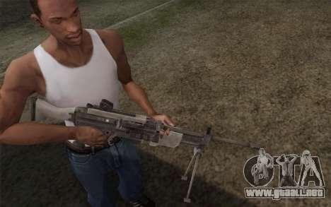 Arma militar para GTA San Andreas segunda pantalla