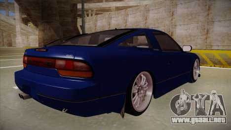 Nissan 240sx JDM style para la visión correcta GTA San Andreas