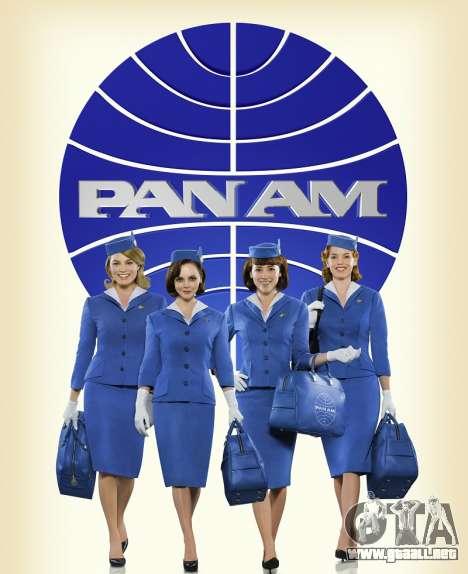 El línea aérea Pan Am para GTA 4