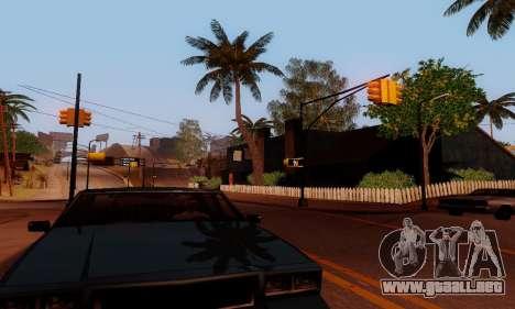 ENBSeries for low and medium PC para GTA San Andreas undécima de pantalla