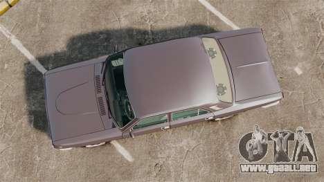 Volga GAZ-2410 v2 para GTA 4 visión correcta