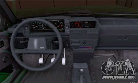VAZ 2109 para vista inferior GTA San Andreas