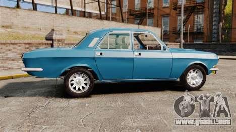 Volga GAZ-2410 v3 para GTA 4 left