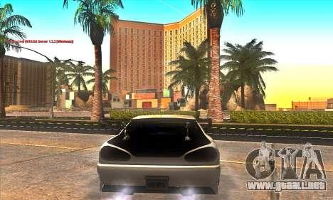 Elegy Drift Concept para vista inferior GTA San Andreas