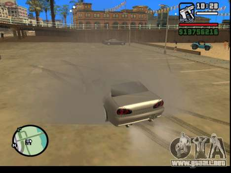 GTA V to SA: Burnout RRMS Edition para GTA San Andreas segunda pantalla