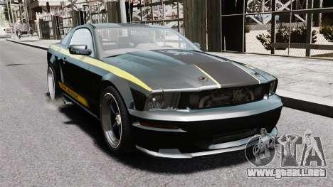 Shelby Terlingua Mustang para GTA 4 visión correcta
