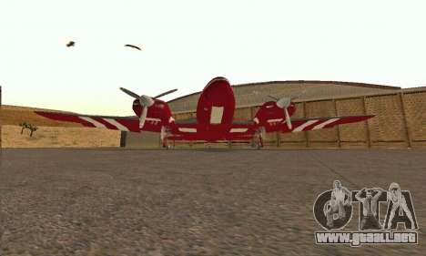 Rustler GTA V para visión interna GTA San Andreas