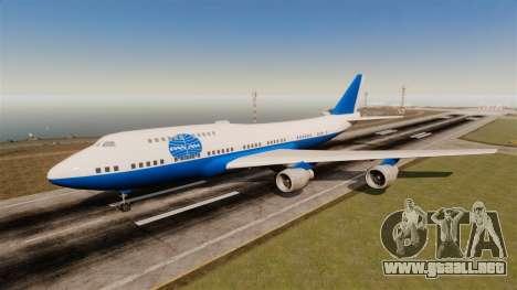 El línea aérea Pan Am para GTA 4 sexto de pantalla
