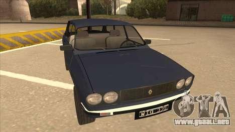 Renault 12 Break para GTA San Andreas left