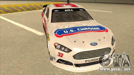 Ford Fusion NASCAR No. 32 U.S. Chrome para GTA San Andreas left