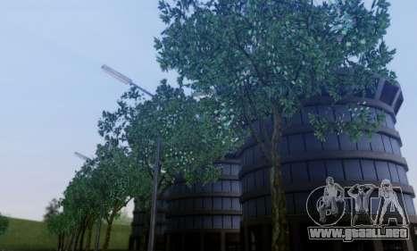 Nueva vegetación 2013 para GTA San Andreas sucesivamente de pantalla