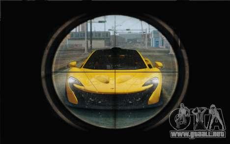M1 Garand para GTA San Andreas tercera pantalla