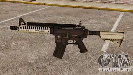 Automático carabina M4 VLTOR v3 para GTA 4 tercera pantalla