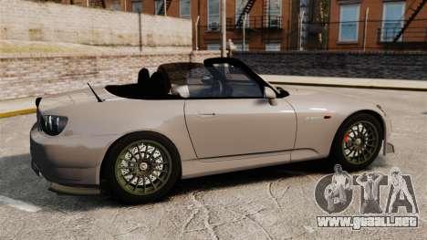 Honda S2000 para GTA 4 left