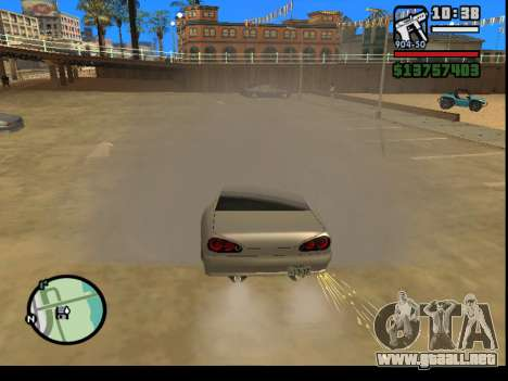 GTA V to SA: Burnout RRMS Edition para GTA San Andreas tercera pantalla