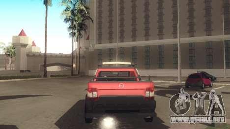 Fiat Strada Locker 2013 para la visión correcta GTA San Andreas