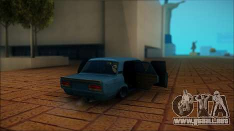 VAZ 2105 para visión interna GTA San Andreas