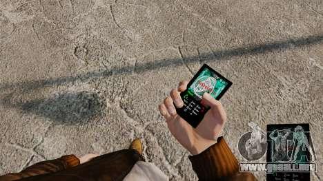 Temas para teléfono Vampire The Masquerade para GTA 4 novena de pantalla