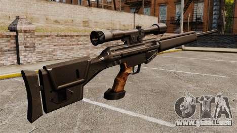 HK PSG10 rifle de francotirador para GTA 4 segundos de pantalla