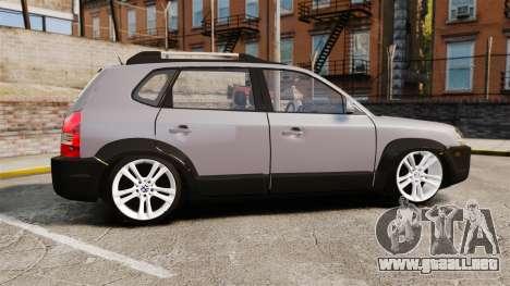 Hyundai Tucson para GTA 4 left