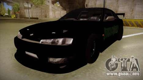 Nissan s14 200sx [WAD]HD para GTA San Andreas
