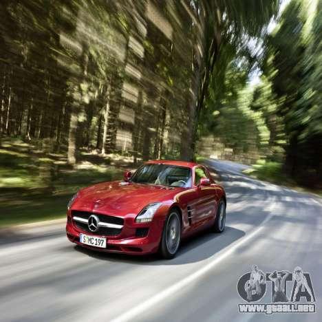 Pantallas de carga Mercedes-Benz para GTA 4 quinta pantalla
